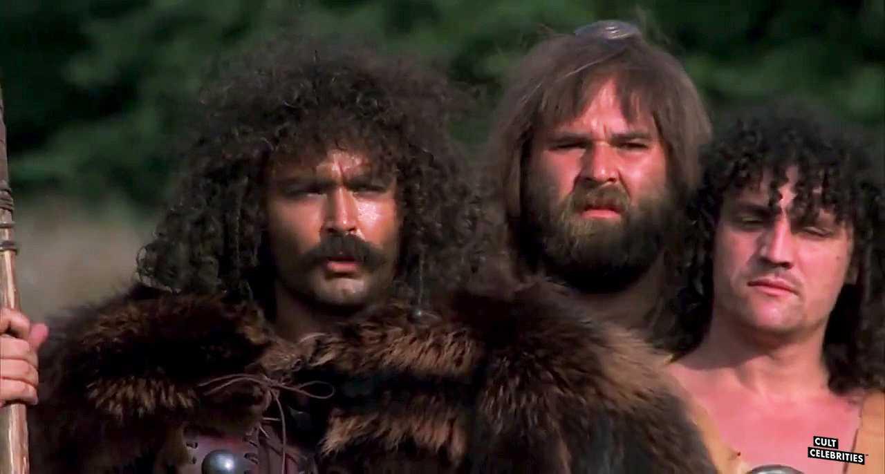 Mario Pedone and Diego Abatantuono in Attila flagello di Dio (1982)