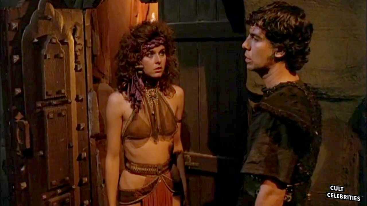 Katt Shea as Estrild in Barbarian Queen (1985)