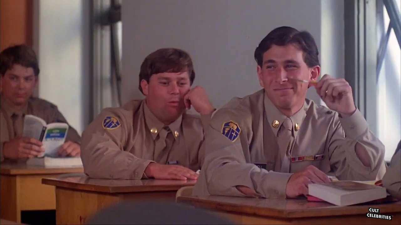 Clint Howard and Don Stark in Evilspeak (1981)