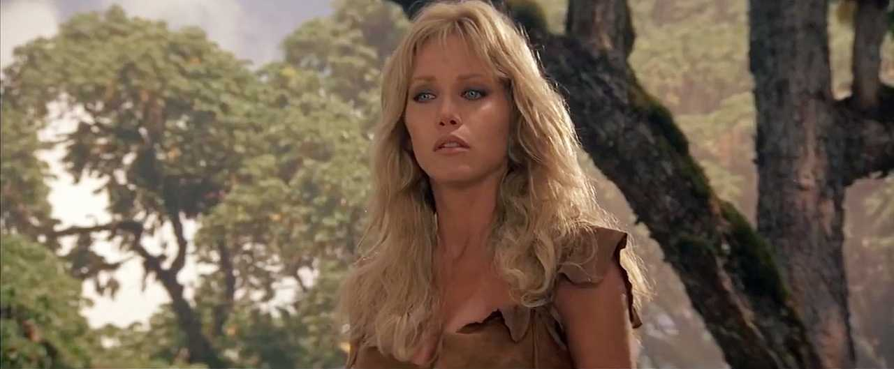 Tanya Roberts in Sheena: Queen Of The Jungle (1984)