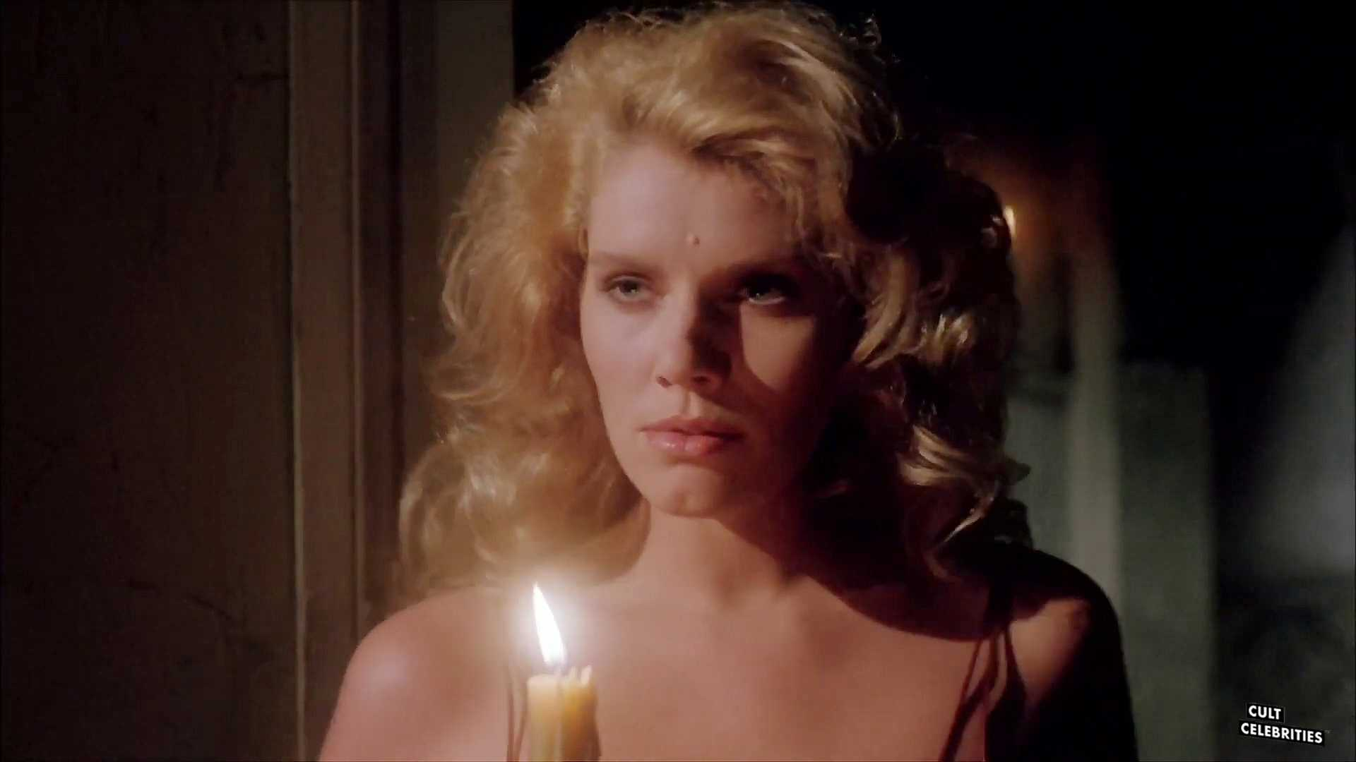 Lana Clarkson in The Haunting of Morellawith Gail Thackray (also known as Gail Harris), Debbie Dutch and Maria Ford.
