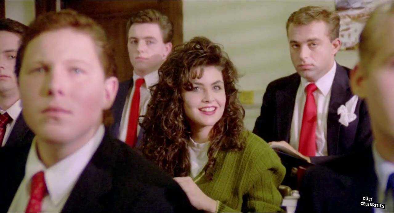 Sherilyn Fenn in Zombie High (1987)