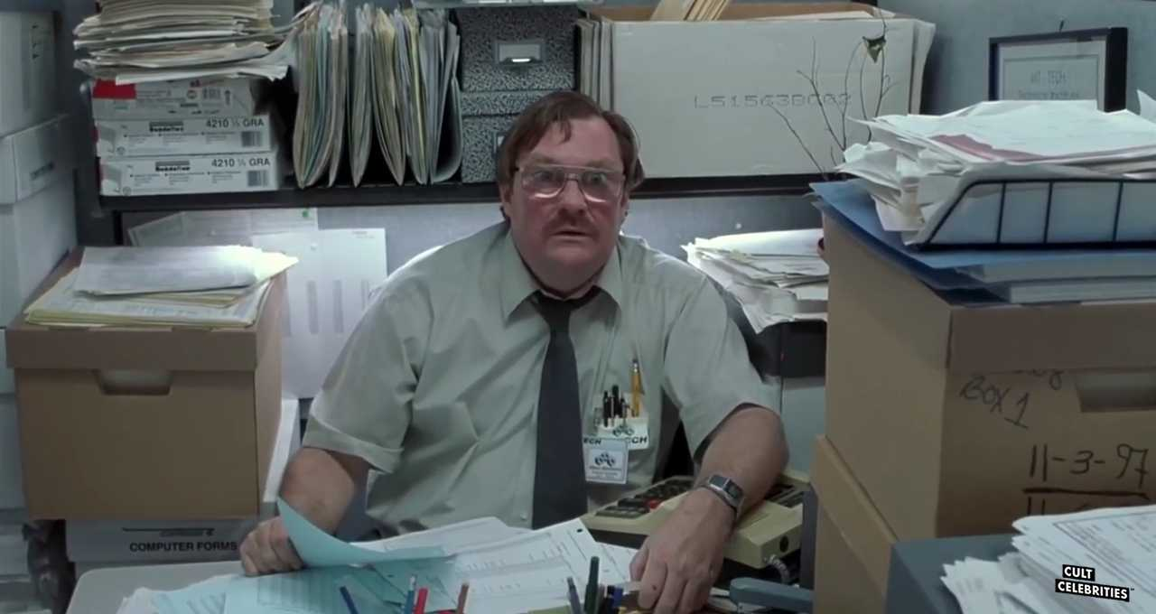 Stephen Root as Milton in Office Spaced (1999)